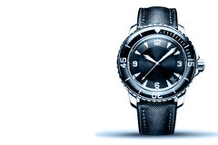 The dial wrist watch Royalty Free Stock Image
