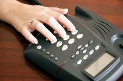 Dialing Royalty Free Stock Photos