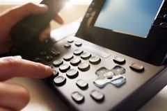 Dialing telephone keypad Stock Image