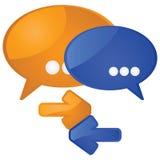 Dialog Stockbild