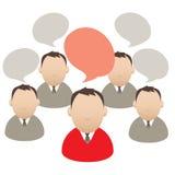 Dialog Lizenzfreie Stockfotos