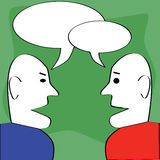 dialog Obrazy Stock