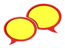 Dialog balloons Royalty Free Stock Image
