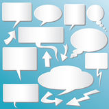 Dialog Balloons Stock Photos