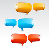 Dialog Boxes Stock Image