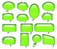Dialog bubble 3 Royalty Free Stock Image