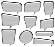 Dialog bubble 4 Stock Photography