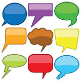 Dialog Bubbles Stock Photos