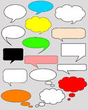 Dialog bubbles Royalty Free Stock Photos