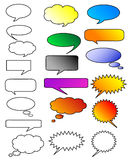 Dialog bubbles Stock Photography