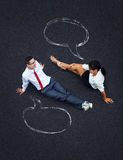 Dialog concept Stock Photos