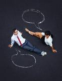 Dialog pojęcie Zdjęcia Stock