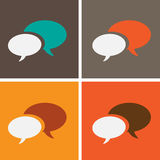 Dialog speech bubbles Royalty Free Stock Photography