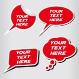 Dialogask Arkivbild