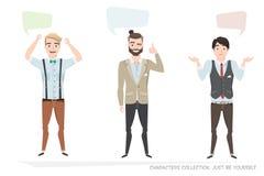 Dialogbubbla för kommunikation royaltyfri illustrationer