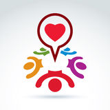 Dialoghi su amore e su salute - forum internazionale su medico e Fotografie Stock