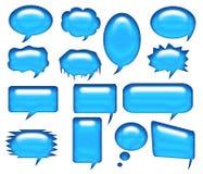Dialogluftblase 1 stock abbildung