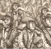 Dialogo contemporaneo Immagini Stock Libere da Diritti