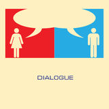 Dialogue Royalty Free Stock Image