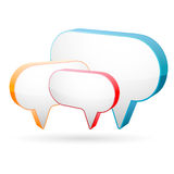 Dialogue box Royalty Free Stock Images