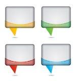 Dialogue box Stock Images