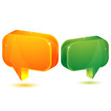 Dialogue bubble Royalty Free Stock Images