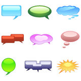 Dialogue bubble Stock Photo