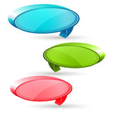 Dialogue bubbles Stock Photography