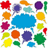 Dialogue bubbles set Royalty Free Stock Photo