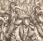 Dialogue contemporain Images libres de droits