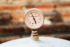 Dials meter Stock Photography