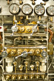 Dials and pressure gauges Stock Photos