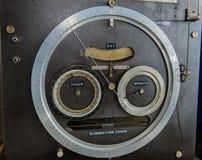 Dials on Tide Predicting Machine No. 2 Stock Photo