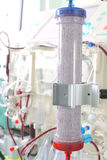 Dialysis filter Stock Images