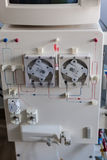Dialysis machine closeup Royalty Free Stock Images