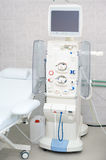 Dialysis machine in hospital Royalty Free Stock Photos