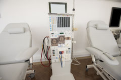 Dialysis machine in a medical center Stock Photography