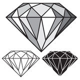 Diamant vector illustratie