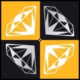 Diamant 4 lizenzfreie abbildung