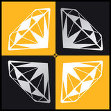 Diamant 4 Royaltyfri Bild