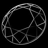 Diamant Arkivfoto