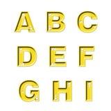 Diamant ABC Stock Afbeeldingen