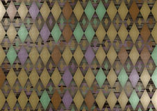 Diamant abstrait Image libre de droits