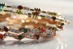 Diamant-Armband Lizenzfreie Stockbilder