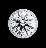 Diamant arrondi Illustration Libre de Droits
