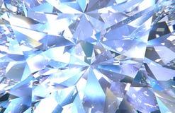 Diamant-Beschaffenheitszoom der Illustration 3D stockfoto