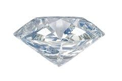 Diamant blanc Photographie stock libre de droits