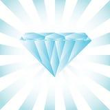 Diamant bleu Photo stock