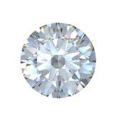 diamant brillant de la coupure 3d illustration stock