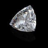 diamant brillant de la coupure 3d Photographie stock libre de droits